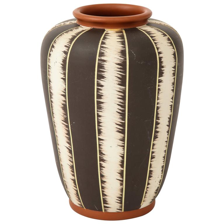 West German Mid-Century Modern Pottery Vase
