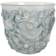 "Rene Lalique Vase ""Avallon"""