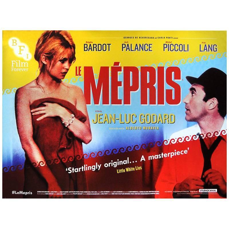 """""""Le Mépris"""" Film Poster, 2013R"""