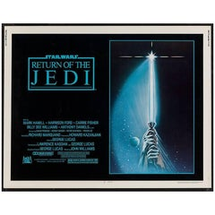 """Return Of The Jedi"" Film Poster, 1983"