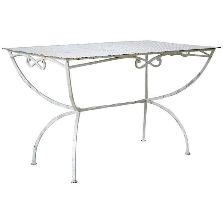 Maison Jansen Garden Table, France, 1950s