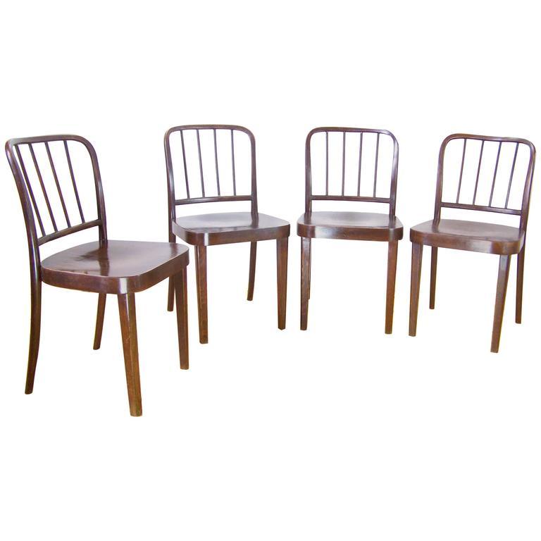 Chairs Thonet A811/4, Josef Hoffman 1