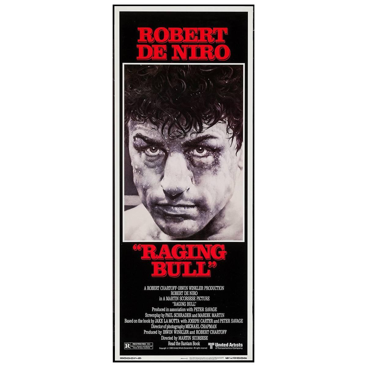 """Raging Bull"" Film Poster, 1980"