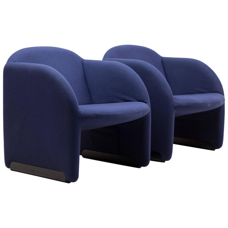 Pair of Ben Chairs Designed by Pierre Paulin for Artifort 1