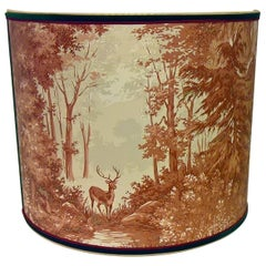 Black Forest Wall Light Shade Wallpaper With A Hunting Scene Sofina Kitzbuehel