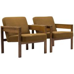 Pair of Armchairs Designed by Architect Hein Stolle for Spectrum