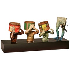 "Steven Michael Beck Sculpture ""Open to Suggestions"""