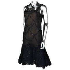 Very Chic Pauline Trigere Couture Little Black Cocktail Dress