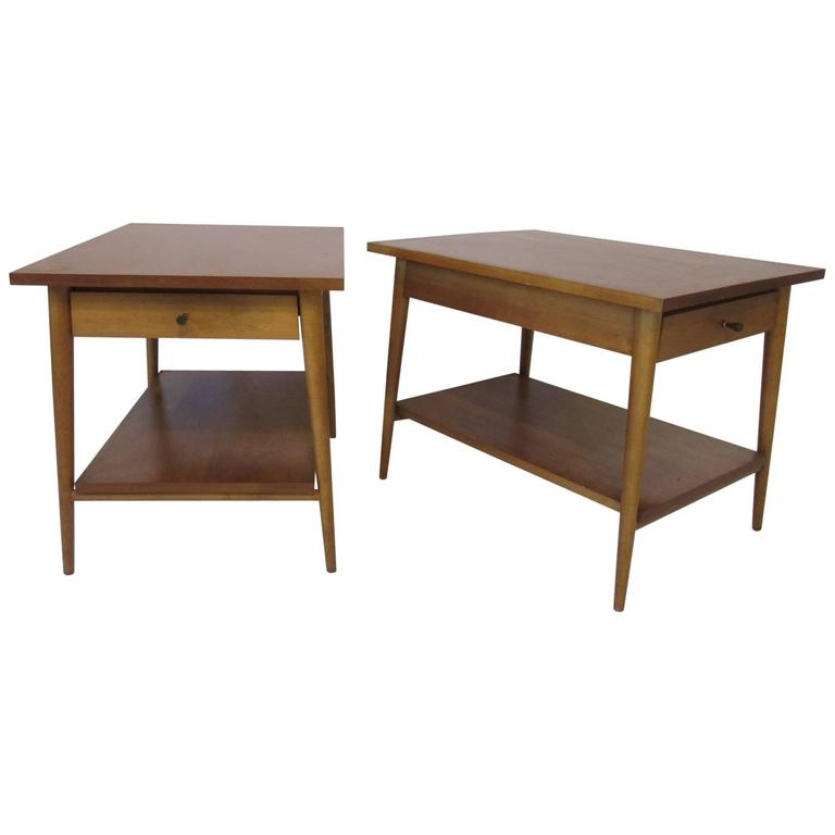 Paul McCobb Planner Group Nightstands or End Tables