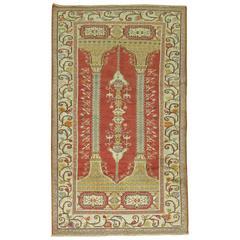 Vintage Turkish Prayer Rug