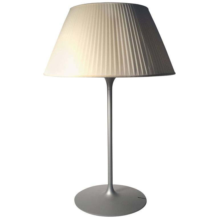 Vintage Flos Romeo Soft 1 Table Lamp by Philippe Starck