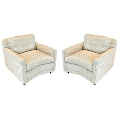 Pair of Mid-Century Modern Billy Haines Style Club Chairs