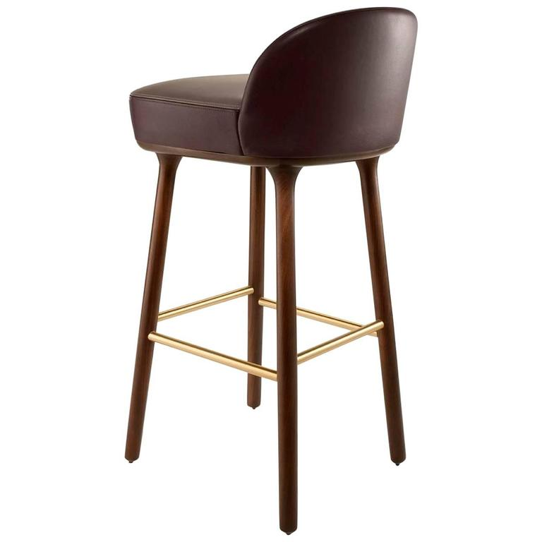 Beetley Bar And Counter Stool Contemporary Bar Stool By