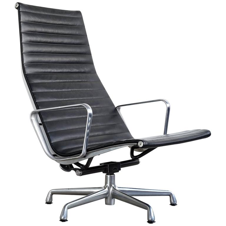 Eames Aluminium Group Lounge Chair For Sale At 1stdibs
