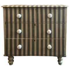 Late 19th Century English Painted Chest