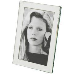 Rare Tiny Mirror Picture Photo Frame, France, circa 1940s
