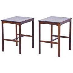1960s Palisander Side Tables by Carl Malmsten