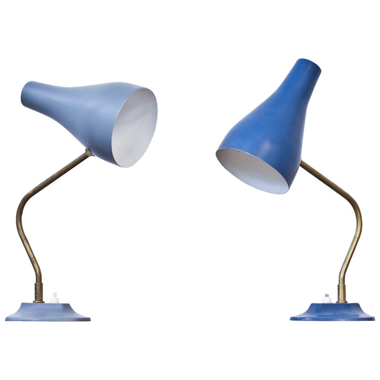 Swedish 1950s Table Lamps by ASEA For Sale