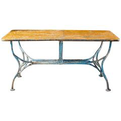 wrought iron dining room tables - 70 for sale at 1stdibs