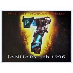 """""""Se7en"""" Film Poster, 1995"""