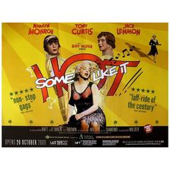 """Some Like It Hot"" Film Poster, 2009-BFI"