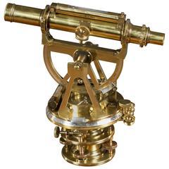 19th Century Brass Theodolite by S.P.Cohen, Glasgow