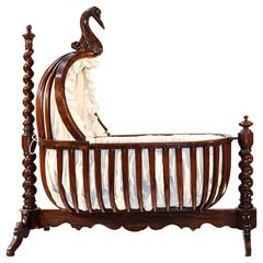 French Early 19th Century Rocking Cradle