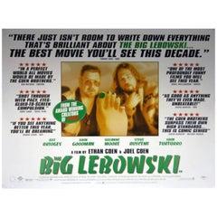 """The Big Lebowski"" Film Poster, 1998"