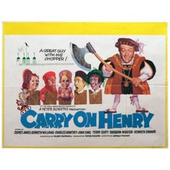 """""""Carry On Henry VIII"""" Film Poster, 1971"""