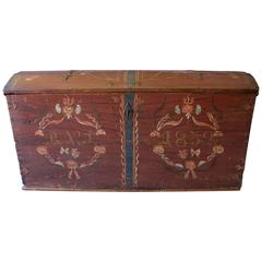 Alsatian Wedding Chest Dated 1832
