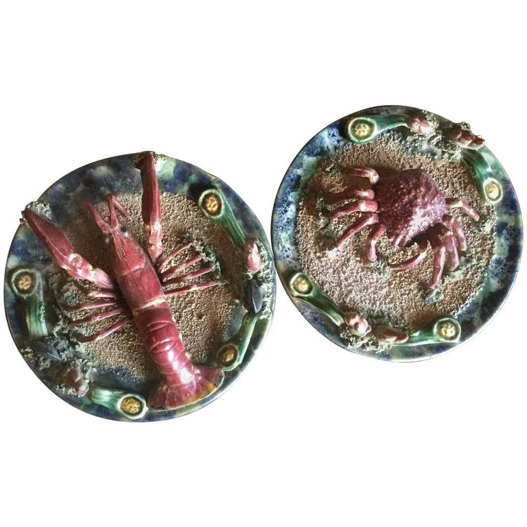 Majolica Plates For Sale