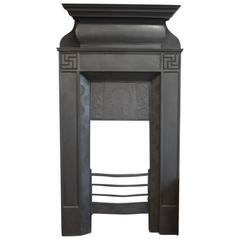Thomas Elsley, an Aesthetic Movement Cast Iron Fireplace