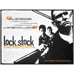 """""""Lock, Stock And Two Smoking Barrels"""" Film Poster, 1998"""