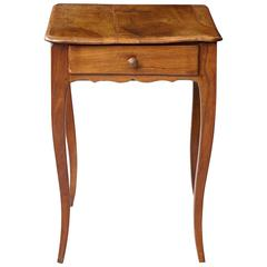 Petite Late 19th Century French Provincial Walnut Occasional Table