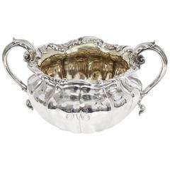 Antique William IV Sterling Silver Sugar Bowl by Paul Storr, 1830