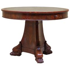 French Empire Center Table