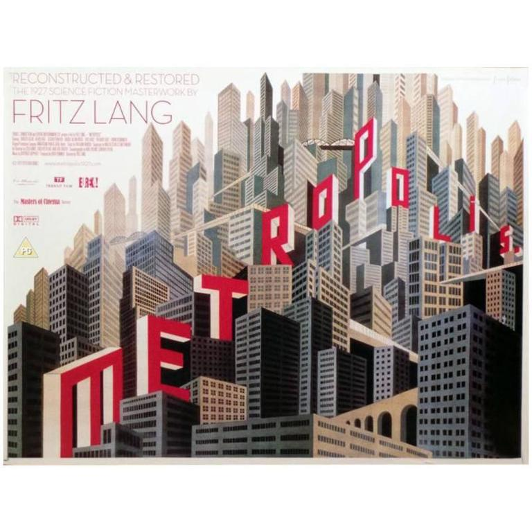 """Metropolis"" Film Poster, 2010"