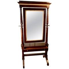 19th Century Cheval Mirror