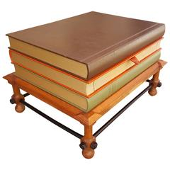 John Dickinson Stacked Books End Table
