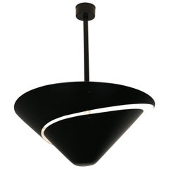 Serge Mouille Medium Snail  Escargot Ceiling lamp.