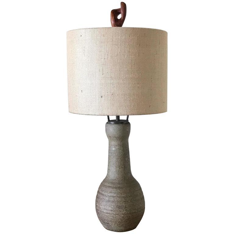 California Studio Ceramic Lamp by Veron Corky Coykendall 1