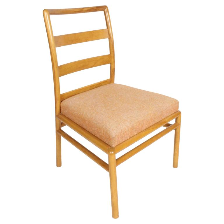T.H. Robsjohn-Gibbings Single Ladder Back Dining or Desk Chair For Sale