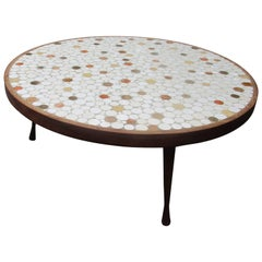 Mid-Centry Modern Tile Coffee Table by Hohenberg