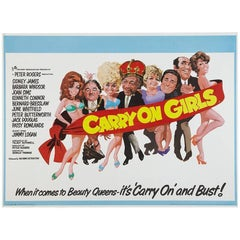"""""""Carry On Girls"""" Film Poster, 1973"""