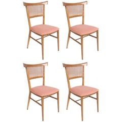 Set of Four Paul McCobb for Winchendon Bow Tie Dining Chairs