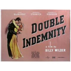 """Double Indemnity"" Film Poster, 2012"