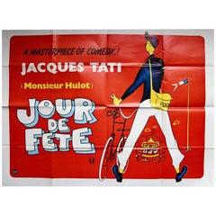 """""""Jour De Fete"""" Film Poster, 1970"""
