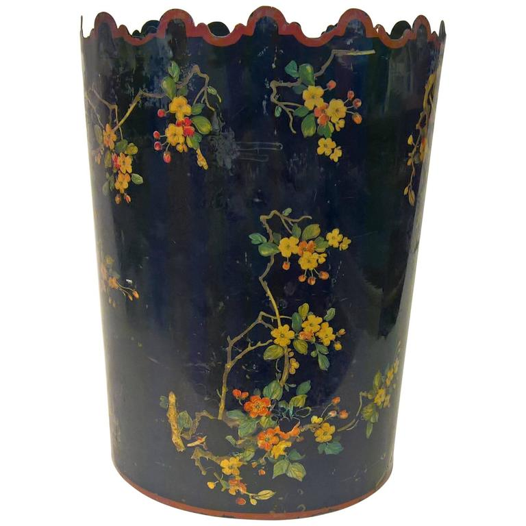 19th Century French Provincial  Wastepaper Basket