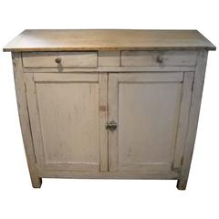 Two-Door Soft Ivory French Buffet