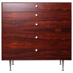 Rosewood Thin Edge Dresser by George Nelson